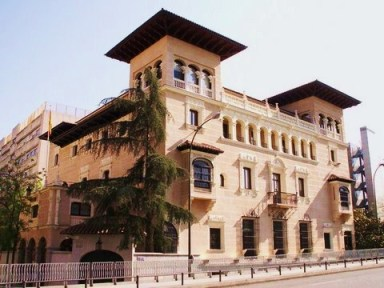 El palacio 'Nino Nanetti' de mis recuerdos era algo similar a este, ubicado en el castizo barrio de Chamberí.