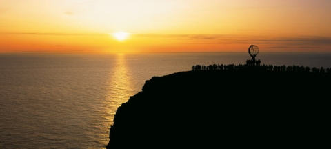 Sol de medianoche - Cabo Norte - Noruega