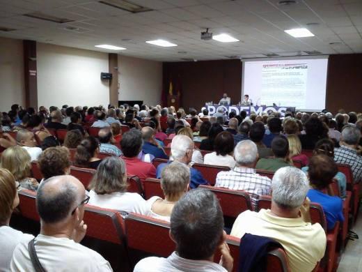 Sala de conferencias Alberto Colau - Cartagena - 10/10/2014