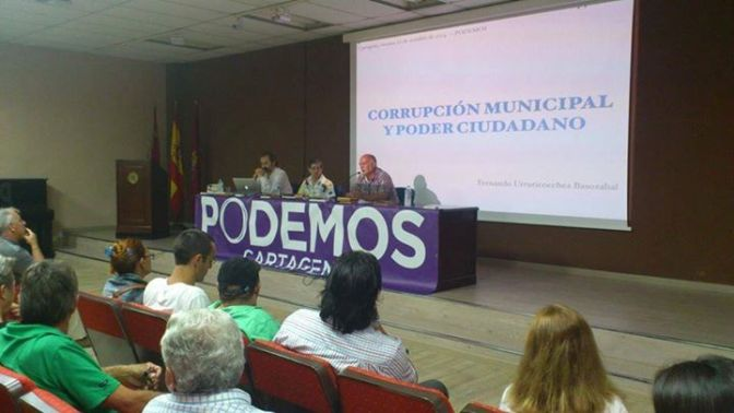 """Fernando Urruticoechea: """"Corrupción Municipaly Poder Ciudadano"""""""