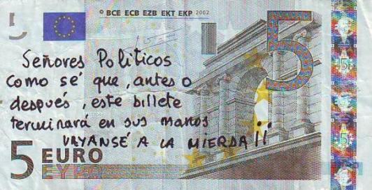 Sres. Políticos y demás corruptos...