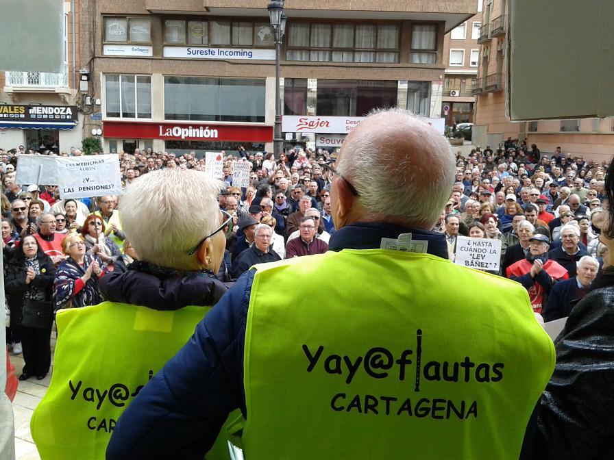 Manifestación Por Unas Pensiones Dignas en Paz y LIBERTAD!… Galería de Imágenes (17 Marzo 2018)