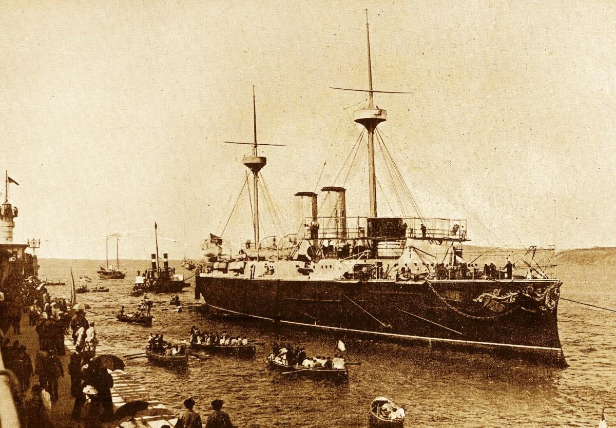 """""""La Escuadra del Almirante Cervera"""""""