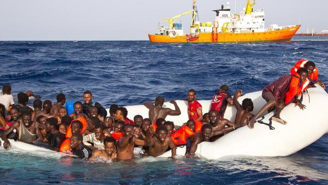 """""""Genocidio en el Mediterráneo"""""""