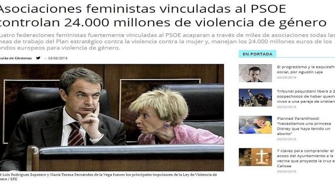 """""""El Devastador Feminismo Ultra ha Levantado un Muro Político con 24.000 Millones de Euros"""""""