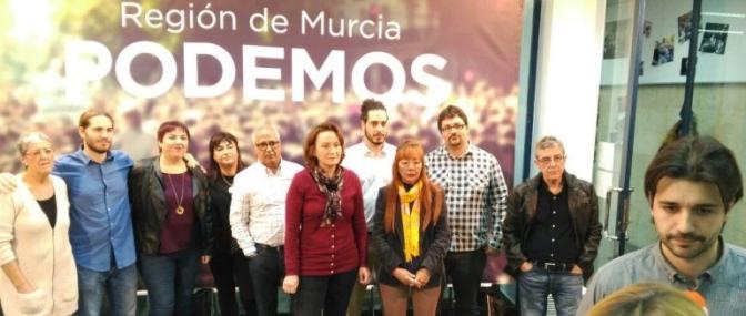 Cinco Cargos de Podemos Murcia Abandonan el Partido