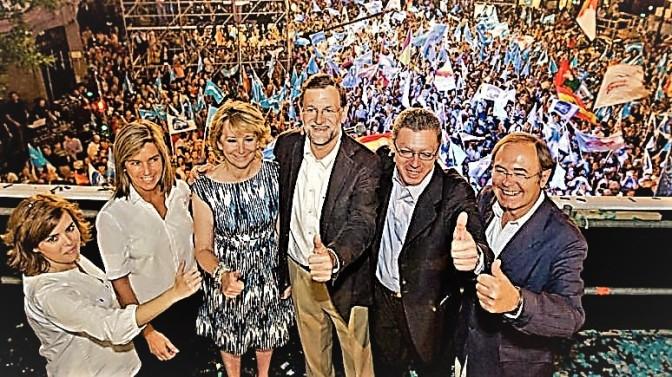 Rajoy ganó las elecciones de 2011 con facturas falsas