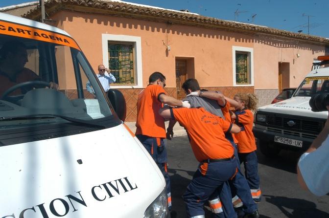 Ciudadanos Reclama una Ambulancia para Protección Civil