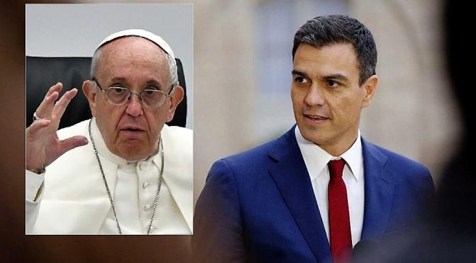 """""""El Vaticano y La Moncloa se Resquebrajan"""""""