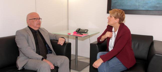 Manuel Padín agradece a Noelia Arroyo su interés por las iniciativas de Cs Cartagena
