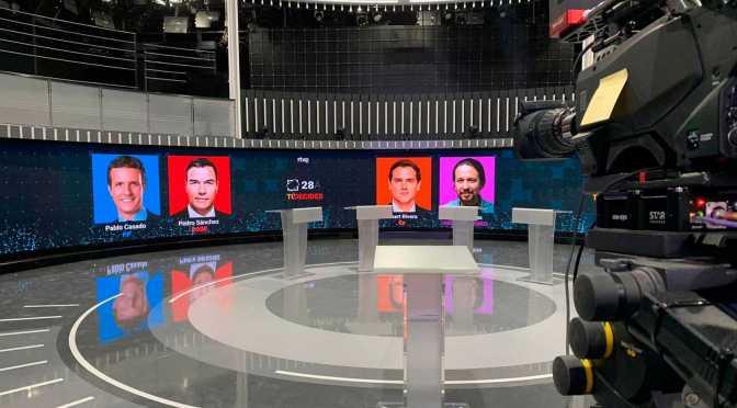 """""""Los Lobos"""" En el Concurso del Debate con Espectáculo TVE"""