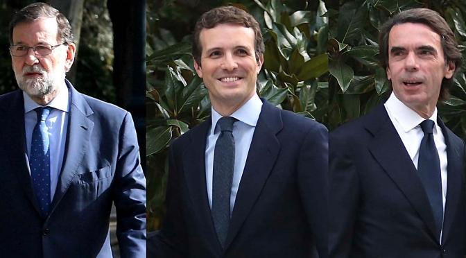 """""""Aznar, Rajoy y Casado Arrastran al PP pero el Bipartidismo se Mantiene"""""""