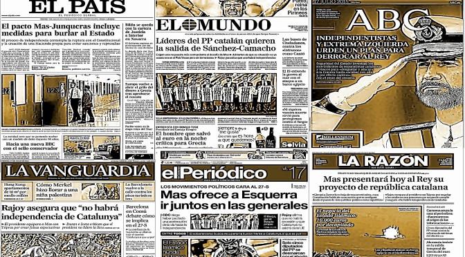 """""""La Prensa Española al Desnudo"""""""