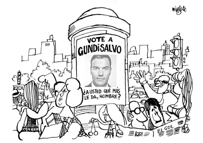 Vote por Sánchez, ¡¡A Usted qué más le Da!!
