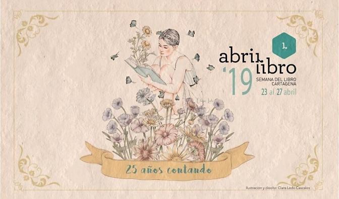 Semana del Libro Cartagena 2019 del 23 al 27 de Abril