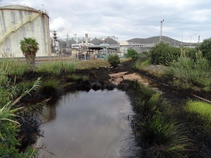 La Fiscalía investiga un vertido de hidrocarburos de Repsol en Cartagena
