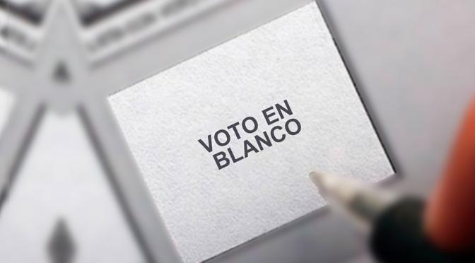 Votar en Blanco, el Poder del Sobre Vacío