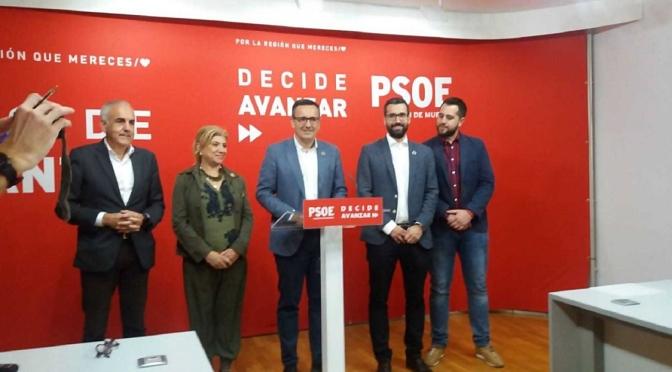 """Diego Conesa: """"El PSOE no apoyará un gobierno con MC ni con el PP"""""""