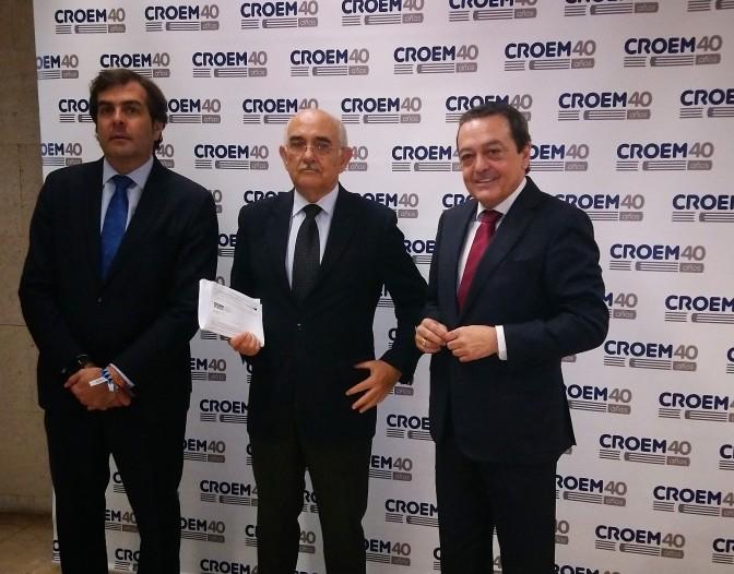 Alberto Garre y Antonio Tomás Espín, Somos Región, se Reúnen con la CROEM