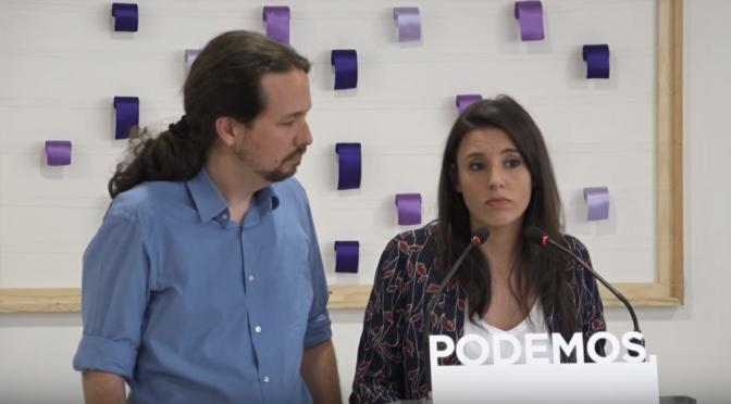 Crisis Abierta en Podemos, Crece la Rebelión Contra Iglesias y Montero