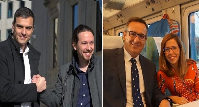 """Torpedo de Pablo Iglesias, Colega de Sánchez"""