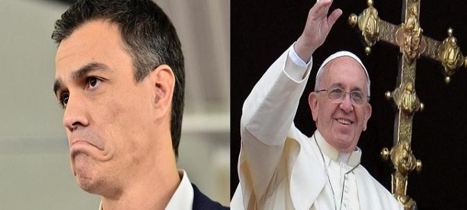 """Topa con la Iglesia, Robín Hood Sánchez"""