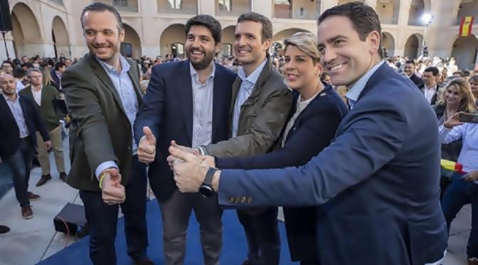 """El PP emplaza a Ciudadanos y a Vox a una reunión """"a tres"""" para hablar de pactos"""