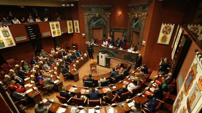 X Legislatura en Murcia: PP, Ciudadanos y Vox se reparten la Mesa de la Asamblea