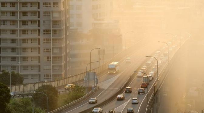 Ecologistas denuncia que casi toda la población de Murcia respiró aire contaminado en 2018
