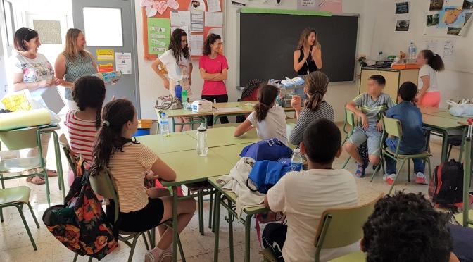 La Fundación SABIC España colabora en la XVI Semana Cultural del CEIP Miguel de Cervantes de La Aljorra