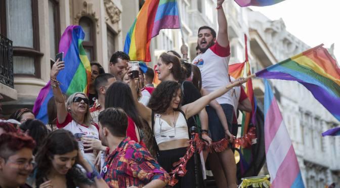Veto al PP, Psoe y Cs en la Manifestación LGTBI de Cartagena
