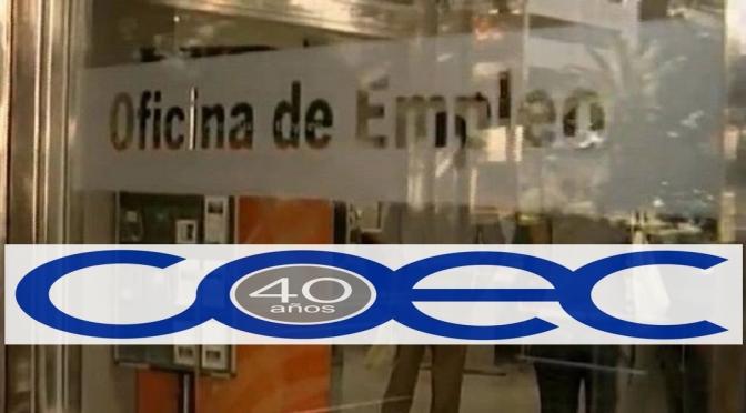 COEC muestra su preocupación por la subida internual del paro en Industria