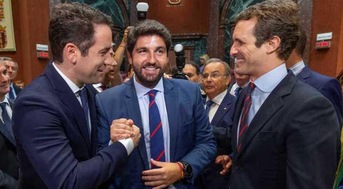 La extrema derecha da la presidencia de Murcia al PP ¿A cambio de qué?