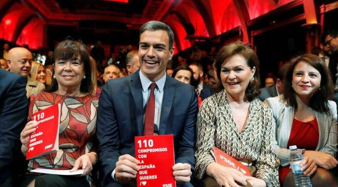 El Programa de Reformas y Estabilidad 2019-2022 del gobierno del PSOE.