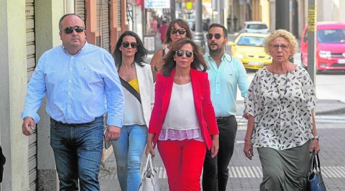 Castejón afirma que seguirá como alcaldesa de Cartagena aunque la hayan expulsado del PSOE