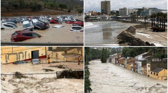 España Bate Récords Europeos en Inundaciones