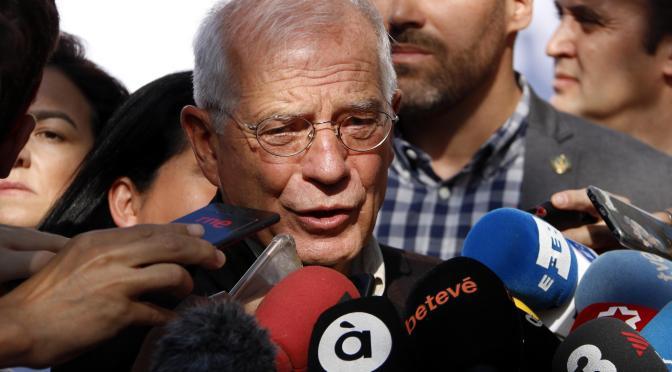 """Borrell, Cabreado"""