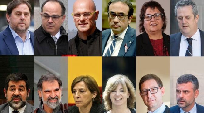 El Tribunal Supremo firma la sentencia: 13 años de cárcel para Junqueras, nueve para los Jordis y 11,5 para Forcadell
