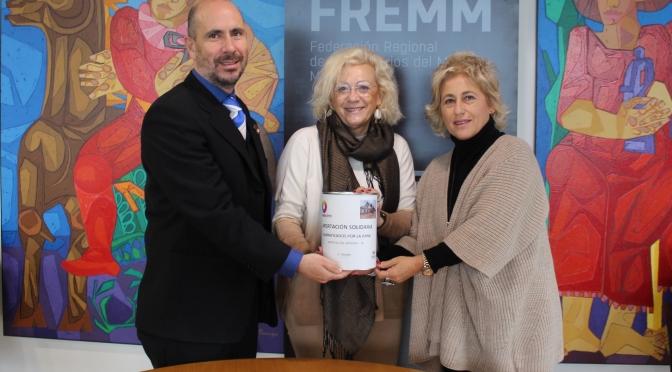 FREMM dona a Cruz Roja la recaudación obtenida en su feria eléctrica para los afectados por la DANA