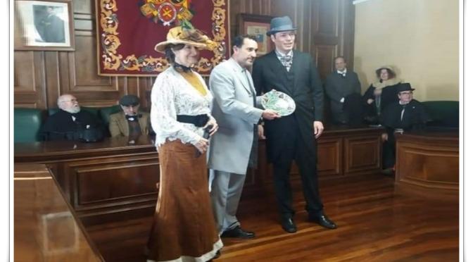A.C. Modernistas de Cartagena de Levante, galardonada por el Ayuntamiento de Teruel.