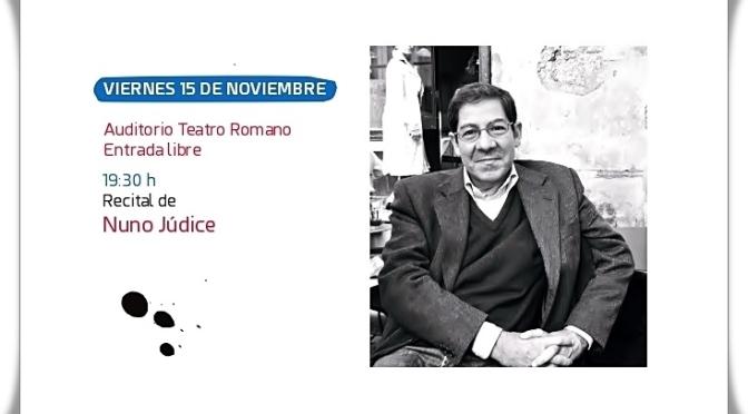 Recital del Poeta Portugués Nuno Júdice