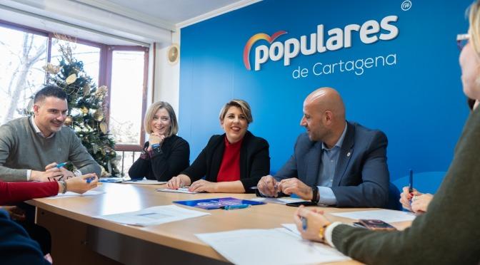 """Noelia Arroyo: """"El traslado de la Consejería impulsará el Plan Estratégico y los proyectos turísticos de Cartagena"""""""