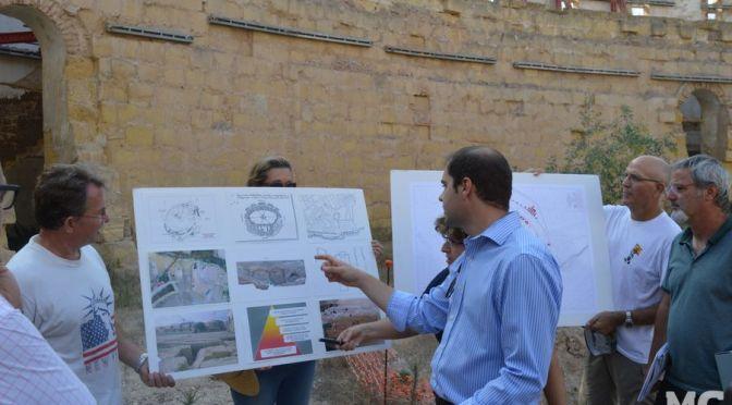 Castejón y Arroyo 'celebran' la ridícula inversión para el Anfiteatro