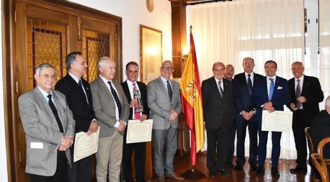 """Matías Barco Cabrera Máximo Galardón de la Hermandad """"Caballeros de Lepanto"""""""