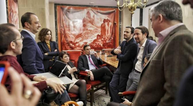 Ejerce el Poder el Gobierno de los Somníferos con la Casa Real de Podemos