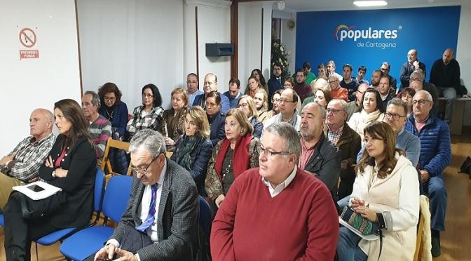 El PP de Cartagena designa portavoz del partido al abogado Álvaro Valdés
