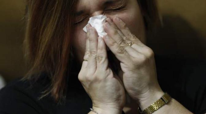La gripe en la Región en situación epidémica baja
