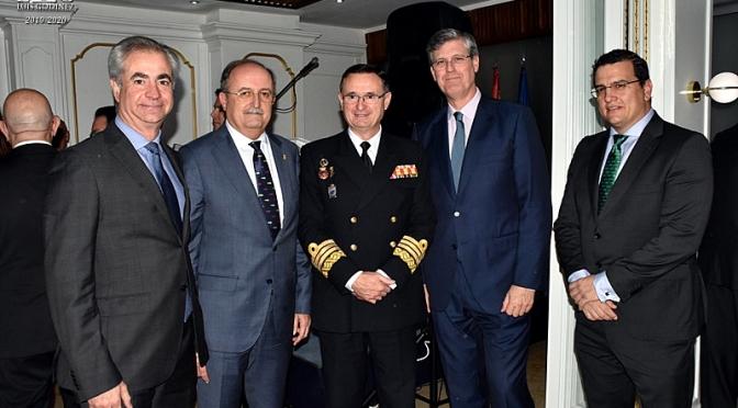 Entrañable y Emotivo homenaje al Almirante Aniceto Rosique tras su nuevo destino en Madrid