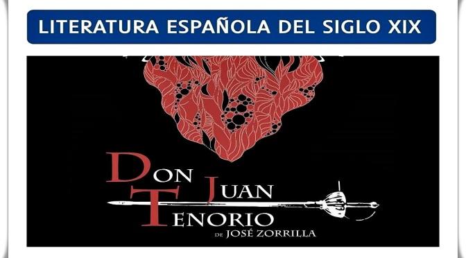 """Conferencia sobre """"Don Juan Tenorio"""" de José Zorrilla"""