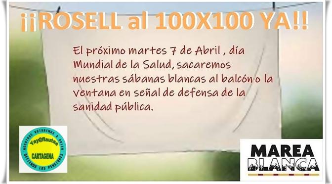 """Yay@flautas Cartagena: """"Exigimos Un Rosell al 100X100"""""""